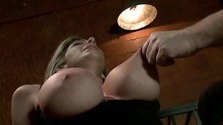 Sara jay being fucked and humiliated in classic bdsm scene