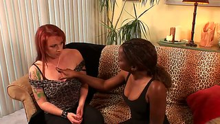 Kylie ireland and monique in interracial lesbo sex