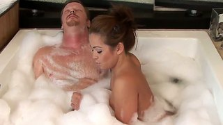 Dick gets a hottest nuru massage he've ever had