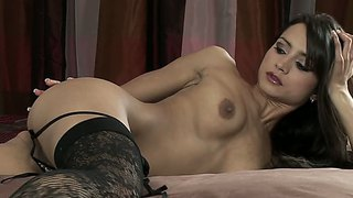 Young chelsea french is so sexy in that bedroom!