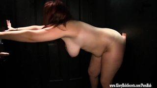 Gloryhole secrets tiffany sexy bbw swallowing cum at glory hole