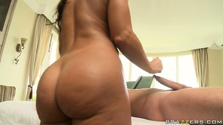 Fat ass of glorious panther lisa ann gets good load of delicious semen