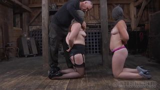 Old executor immobilizes two sluts
