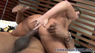 Chubby mature bitch alessandra gets anal annihilation from latino cock