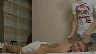 Massage, Babes, Teenager, Olie, Vild Sex