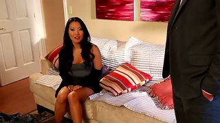 Exotic asa akira asks rocco reed to insert his fuck stick in her mouth