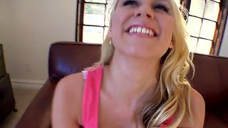 Tattooed blondes like katie summers dreams about deep drilling