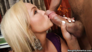 Tommy gunn is horny as hell and cant wait any more to fuck enchanting abbey brookss honeypot