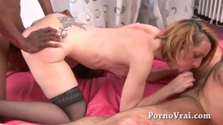 French mature hard anal fuck dans le cul !