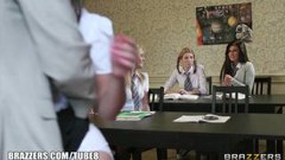 Brazzers - liza del sierra - professor's got the moves