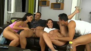 Swinger party with renato,  sandra rodriguez,  susanna,  tony