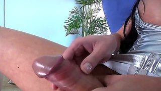 Mia isabella jerks herself off on camera