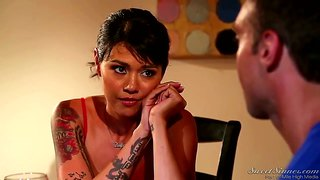 Good looking tattooed mom dana vespoli is horny