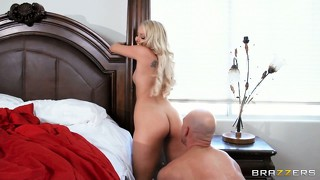 Aaliyah shows off her amazing skills in the bedroom with her biggest fan
