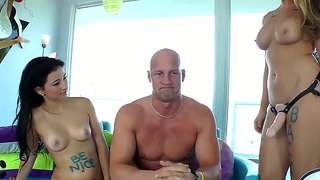 Chanel preston and christian a with hot mandy sky