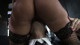 Two bitches get fondled and have their pretty feet worshipped