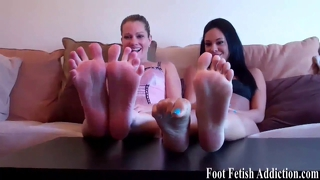 Your job is to pamper our feet