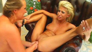 Sexy clara and hot mandy are two lesbians that suck each others pussy as they fists each other