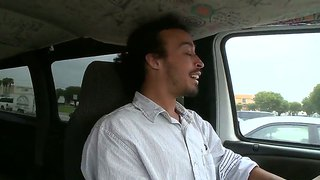 Wonderful blonde chick madison foxx and her boyfriend got picked up from parking lot and paid for fuck!