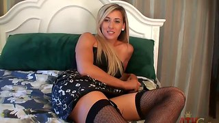 Fantasctic lilly banks is a very bad girl