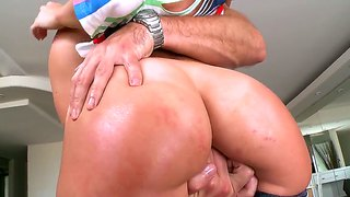 Nasty anal sex with hot chick jada stevens