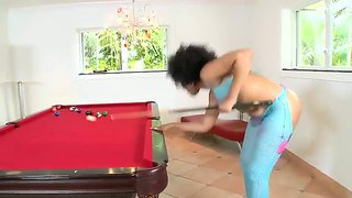 Jmac enjoys fucking curly black babe daiquiri divine and feel her warm pussy