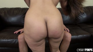 Riding that cock gives reena the opportunity to drive her pussy closer to climax