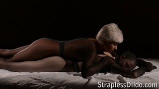 Pantyhose encasement with strapon