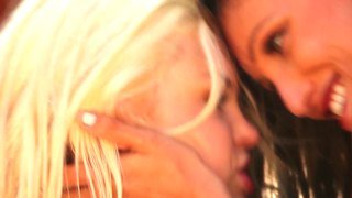 Lezzies bree daniels and celeste star get rough