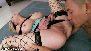 Mia rider and keni styles plays a kinky game. the...