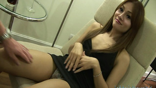 Interview with a ladyboy and bareback anal sex