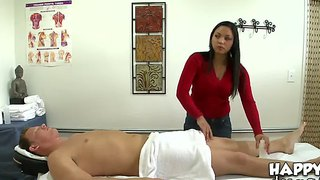 Asien, Massage, Handjob