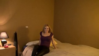 Krissy lynn and manuel ferrara get hot and passionate at home in the bedroom