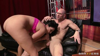 Horny babe missy martinez rides his big bone front and back like a cowgirl