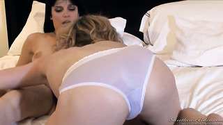 Lily labeau spends her sexual energy with lesbian bobbi starr