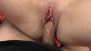 Young amateur girlfriend getting nailed