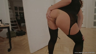 Perfect hungarian milf orchidea nude on erotic makeover
