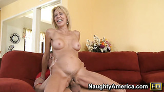 Erica lauren is in the mood for fucking and gives it to hard dicked dude chris johnson