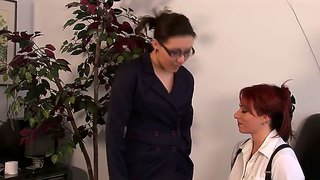 Kylie ireland and sinn sage start from spanking