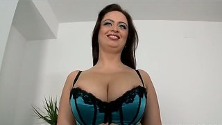 Sirale gets to fuck her man in her first porn video
