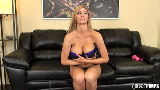 Whitney marie may have fake tits but the rest of her is all woman