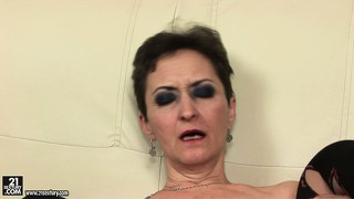 Marica still manages to seduce young stallions with her extremely nice pussy