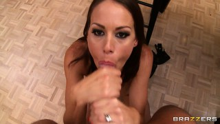 Big tit mckenzie lee fucked hard in her asshole after sucking cock and getting her pussy licked