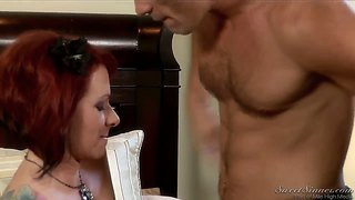 Redhead kylie ireland have 69 with manuel ferrara