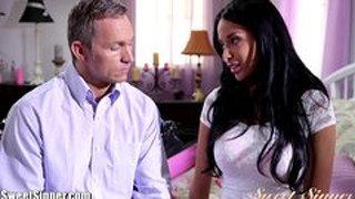 Sweetsinner big tit babe anissa kate banged hard