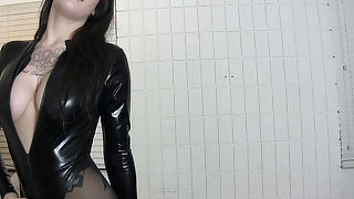 Eat your cum for ashton vena goth femdom cei pantyhose ink