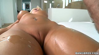 Rikki six for the first time in the pornstar spa