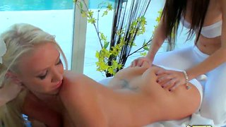 April oneil and molly cavalli get aroused and wet