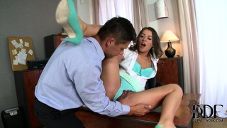 Experienced sex master brings a lot of sweet penetration to that cock-smitten ladies