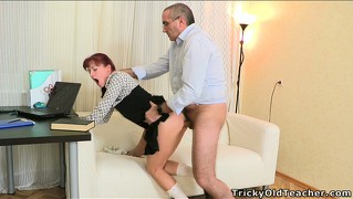 Goodly and lust-driven maid stefany is bumped by dirty and famished lecher